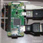 ラズベリーパイ zero OSの環境設定とssh/VNC接続
